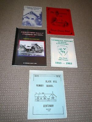 Vintage 5 School Centenary History Books
