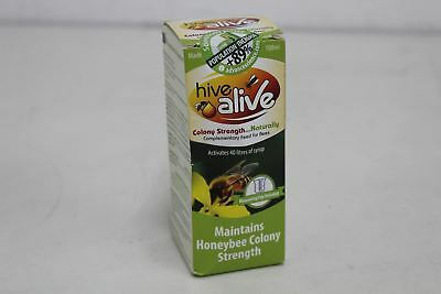 BNIB HIVE ALIVE Small 100ml Colony Strength Activates 40L-Syrup Honeybee