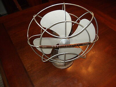 "Vintage Westinghouse oscillating 10"" electric fan Part No.4697"