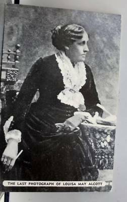 Louisa May Alcott Last Photograph Postcard Old Vintage Card View Standard Post