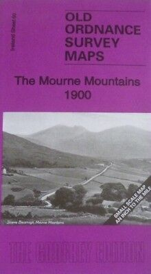 Old Ordnance Survey Maps  The Mourne Mountains Ireland & Map Castlewellan 1900