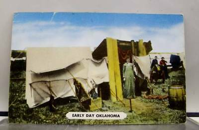Oklahoma OK Guthrie Early Day Postcard Old Vintage Card View Standard Souvenir