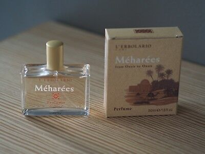 L` Erbolario Meharees Eau de Parfum Made in Italy EDP 50ml
