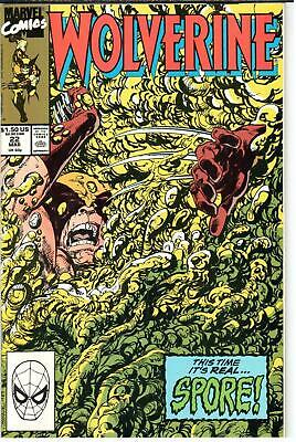 1988 Series #049 December 1991 Marvel NM 9.2 Wolverine