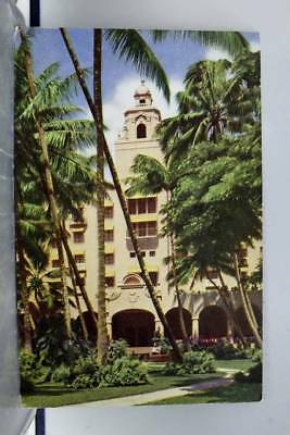 Hawaii HI Waikiki Royal Hawaiian Hotel Postcard Old Vintage Card View Standard