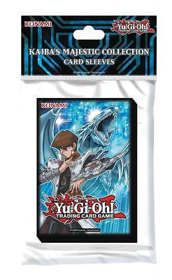 Yu-Gi-Oh Kaiba's Majestic Collection Card Sleeves - Trading Card Deck Protectors