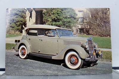 Car Automobile 1935 Ford Phaeton Postcard Old Vintage Card View Standard Post PC