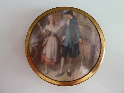 Vintage Powder Compact Made In England