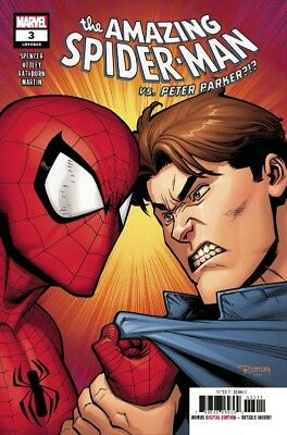 Amazing Spider-Man #3 Marvel Lgy 804 Vs Peter Parker Spencer Ottley 8818