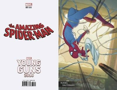 Amazing Spider-Man #801 Dauterman Young Guns Variant Marvel Martin Slott 62018