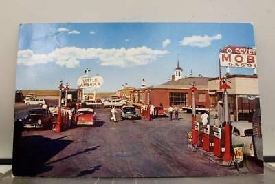 Wyoming WY Coveys Little America Postcard Old Vintage Card View Standard Post PC