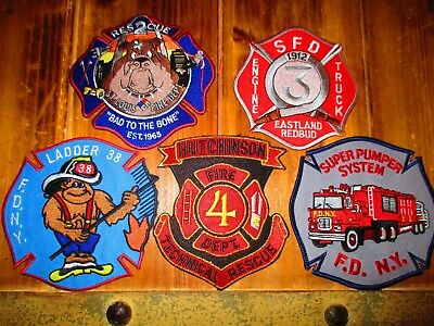 5 Company Fire Patches #43