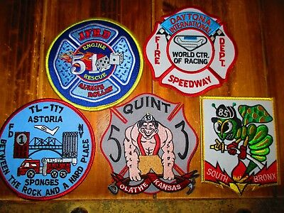 5 Company Fire Patches #44