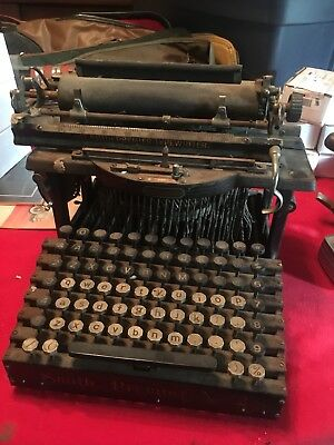 Antique L.C. Smith Premier No. 2 Typewriter Parys Or Restore