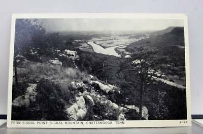 Tennessee TN Signal Point Chattanooga Signal Mountain Postcard Old Vintage Card