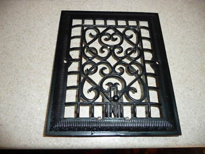 Vintage Cast Iron Register Vent Grate Cover Art Deco NM