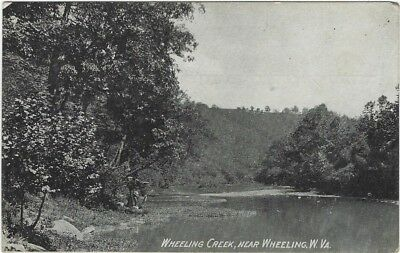Wheeling, WV - Wheeling Creek 1908