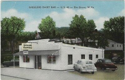 Elm Grove, WV - Gieselers Dairy Bar on U.S. 40