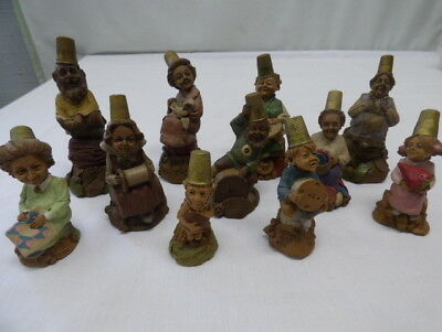 Tom Clark Thimble Gnomes Lot of 11 Hand Signed Cairn Studio