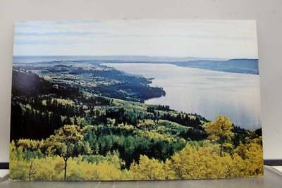 Wyoming WY Fremont Lake Pinedale Postcard Old Vintage Card View Standard Post PC
