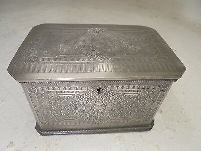 Rare Antique Chinese Tea caddy Box   ,    ref 4455