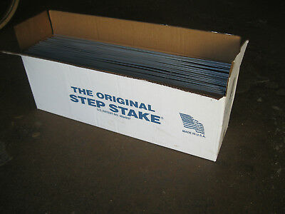 Step Stake sign holders #2 wire, 10x30, box of 50. Yard sales, political signs