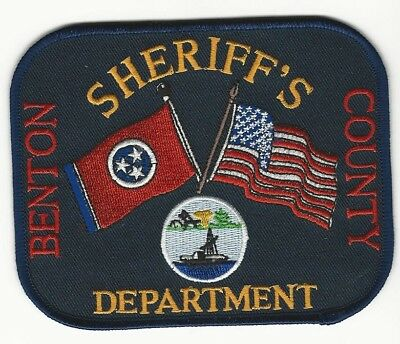 Benton County Sheriff State Tennessee TN patch NEAT