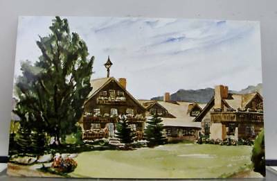 Vermont VT Trapp Family Lodge stowed Postcard Old Vintage Card View Standard PC