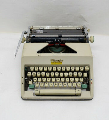 Vintage OLYMPIA PORTABLE MANUAL TYPEWRITER  01/L392768A