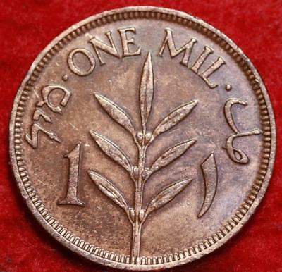 1927 Palestine One Mil Foreign Coin