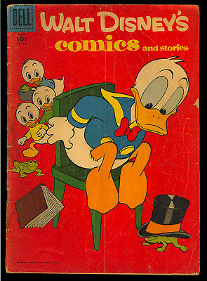 Walt Disney's Comics & Stories #200-202 Barks GROUP (3) 1957 GD to VG/FN