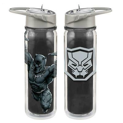 594b4f919e Marvel Comics The Black Panther 18 oz. Double Wall Tritan Water Bottle  UNUSED