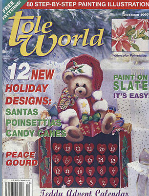 MAGAZINE -  TOLE WORLD - December 1997
