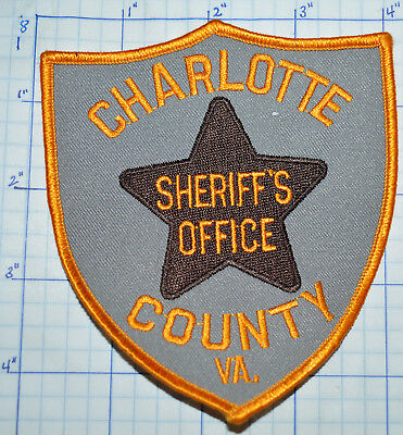 West Virginia, Charlotte County Sheriff's Office Patch