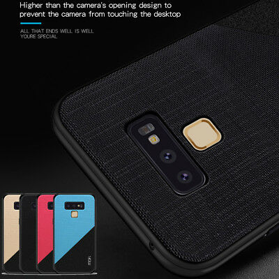 For Samsung Galaxy Note 9, Mofi Full Cover Shockproof Anti-skid Soft Edge Case