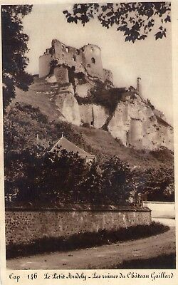 Carte Postale ancienne - LE PETIT ANDELY - RUINES CHT GAILLARD - EURE 27
