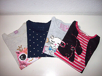 "~H&M Tchibo & Co. Langarmshirt-Set 122 128 ""Animal PUNKTE~"