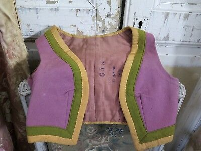 PARIS 20s ANTIQUE THEATRE Kleidung Child Costume Antique french