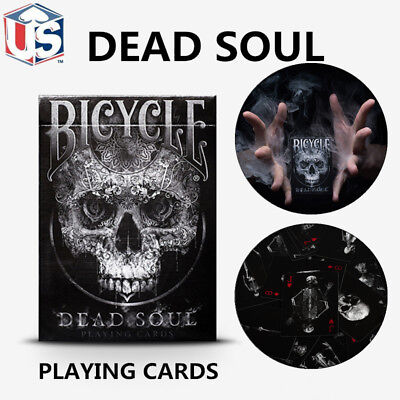 Dead Soul Bicycle Skull Playing Cards Collectable Black Magic Poker Deck Sealed