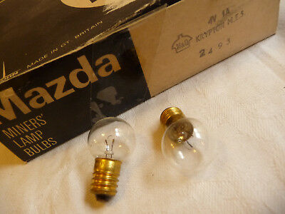 Bulb lamp 4v 1a x 1 miners lamp emergency light torch E10  ..., 13  nu