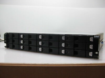 Dell Xyratex Compellent HB-1235 12-Bay 12x  Constellation 2TB SAS 2x Controllers