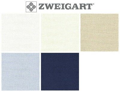 ZWEIGART 28ct BRITTNEY EVENWEAVE CROSS STITCH FABRIC - Various Colours / Sizes*