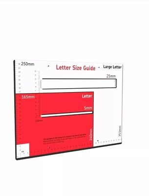 Royal Mail Letter And Large Letter Size Guide