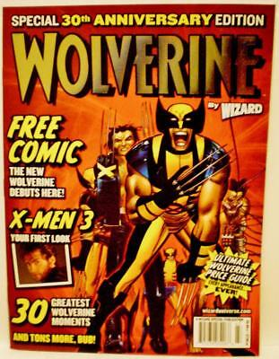 Special 30th Anniversary Edition WOLVERINE by Wizard Magazine (2004)!
