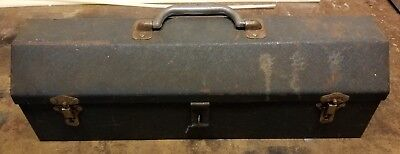 Indestro-Vintage Tool Box w/Tray-Chicago