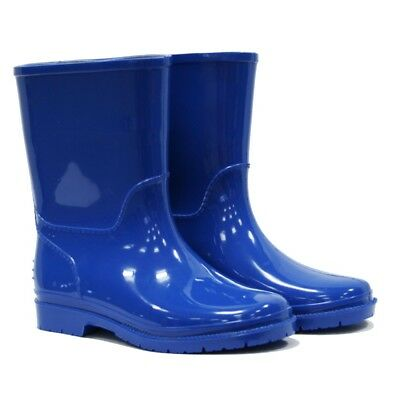 Town & Country Kids Wellies Sky Blue, Size 13