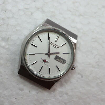 Citizen Automatic Vintage Herrenuhr, Stahl, Werk läuft                    40/6