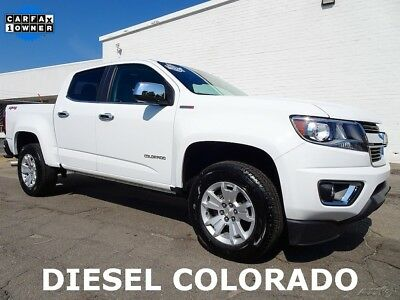 Chevrolet Colorado LT 2017 Chevrolet Colorado LT Pickup Truck Used Certified 2.8L I4 16V Automatic 4x4