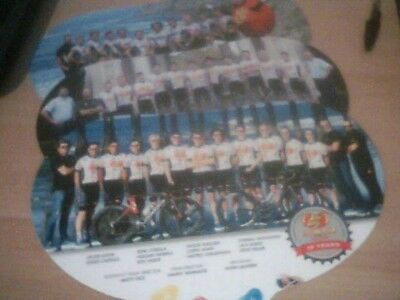 Cyclisme 2018 - Wielrennen: 3 Grandes Cartes Jelly Belly Usa Team 2018 A 2016