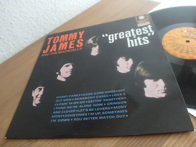 """Tommy James and the Shondells Beat Garage LP 1969"""" NM original FRENCH"""